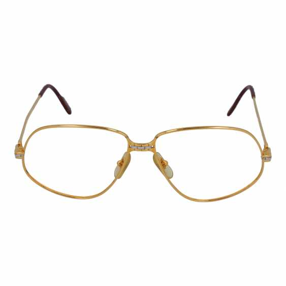 """CARTIER glasses frame """"PANTHERE"""", collection: 1988 in Paris. - photo 1"""