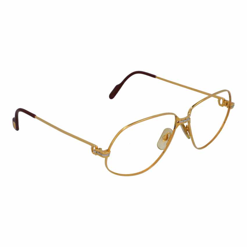 """CARTIER glasses frame """"PANTHERE"""", collection: 1988 in Paris. - photo 2"""