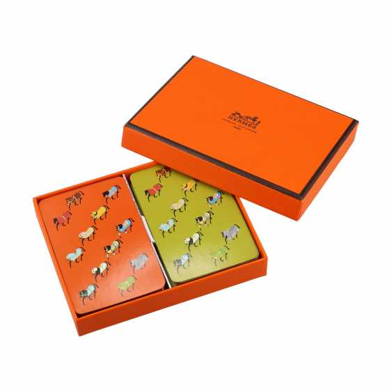 HERMÈS card game, new price approx .: 105, - €. - photo 1