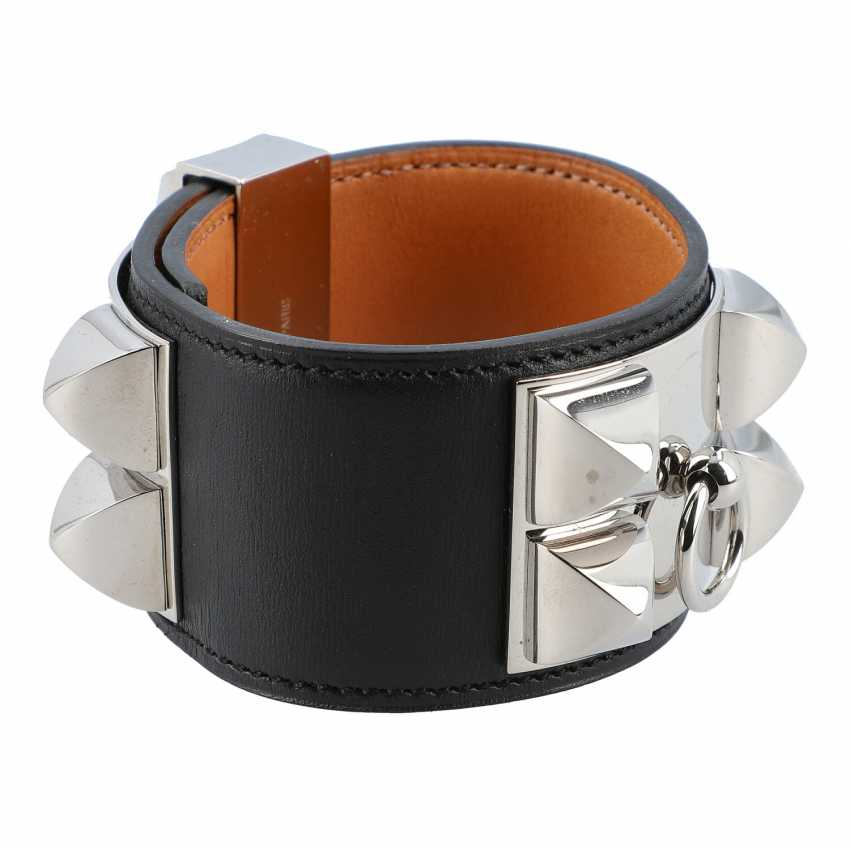 "HERMÈS Armband ""DOG COLLAR"", Grösse L. - photo 2"