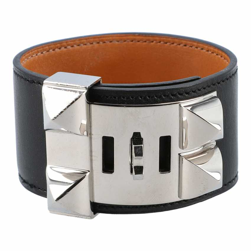 "HERMÈS Armband ""DOG COLLAR"", Grösse L. - photo 4"