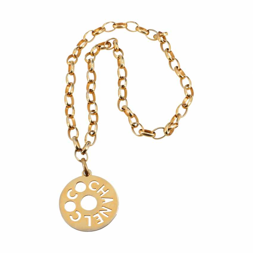 CHANEL VINTAGE necklace, collection around 1983. - photo 2
