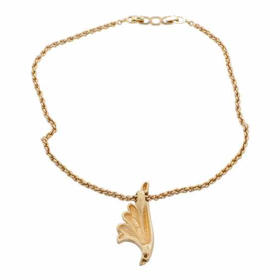 CHRISTIAN DIOR necklace. - photo 2