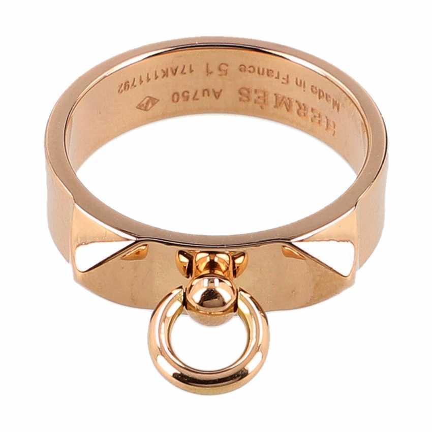 "HERMÈS Ring ""COLLIER DE DOG"", Grösse 51. - photo 1"