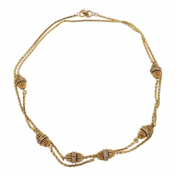 CHRISTIAN DIOR VINTAGE fashion jewelry chain. - photo 2