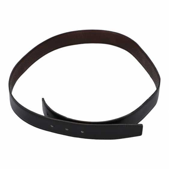 HERMÈS reversible belt, length: 95cm, current new price: 365, - €. - photo 1