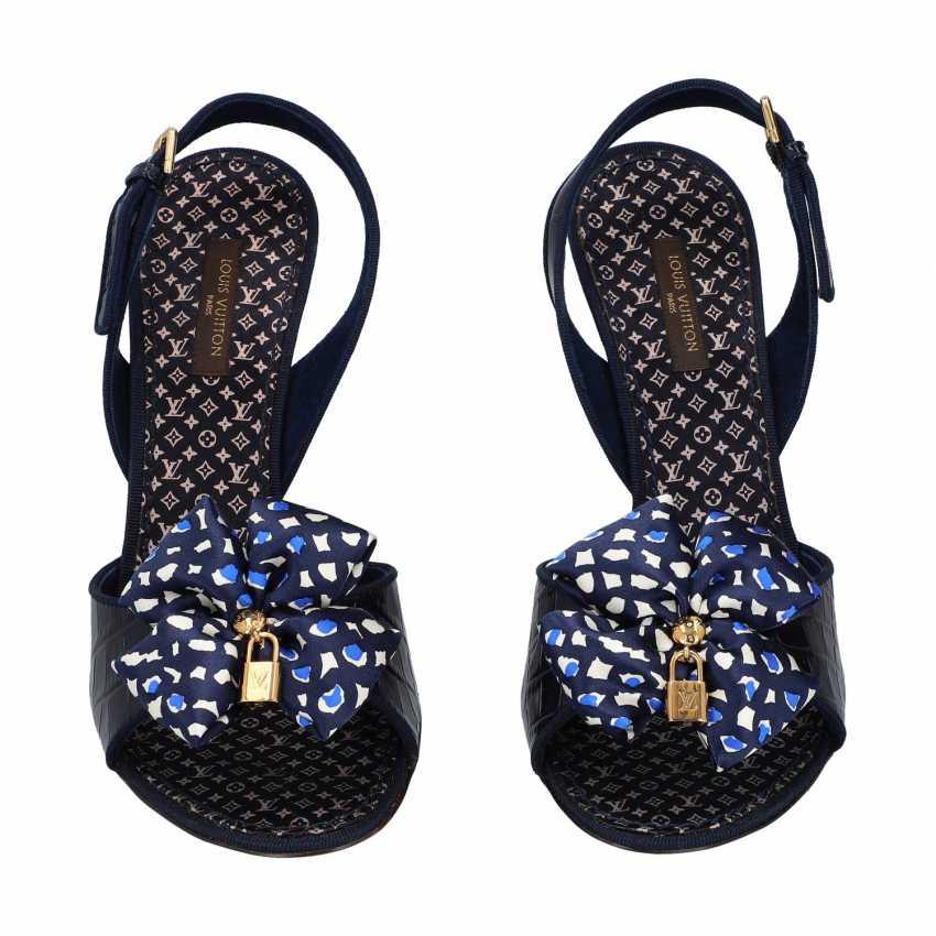 LOUIS VUITTON sandals / pumps, size 38.5. - photo 1