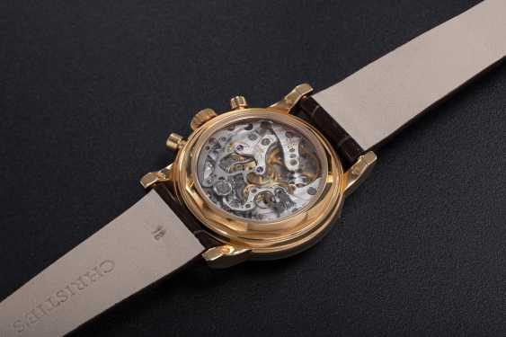 PATEK PHILIPPE, REF. 3970ER-12, A GOLD PERPETUAL CALENDAR CHRONOGRAPH WRISTWATCH - photo 2