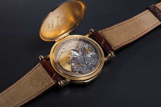 PATEK PHILIPPE, REF. 5029, A RARE GOLD MINUTE REPEATING CHRONOMETER WRISTWATCH - photo 2