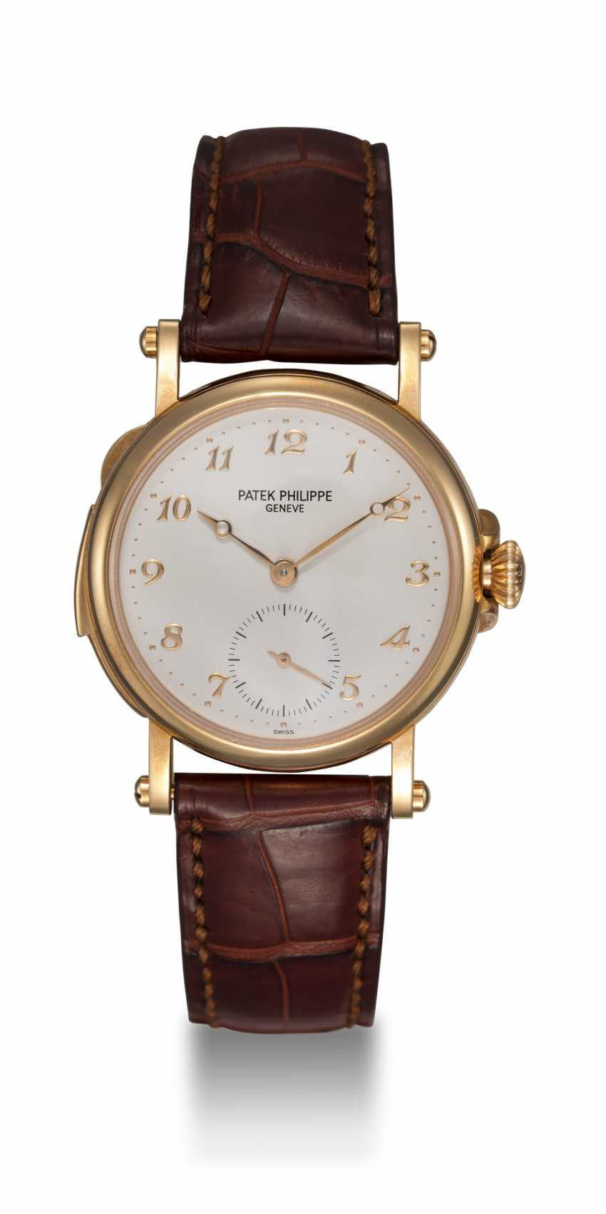 PATEK PHILIPPE, REF. 5029, A RARE GOLD MINUTE REPEATING CHRONOMETER WRISTWATCH - photo 5