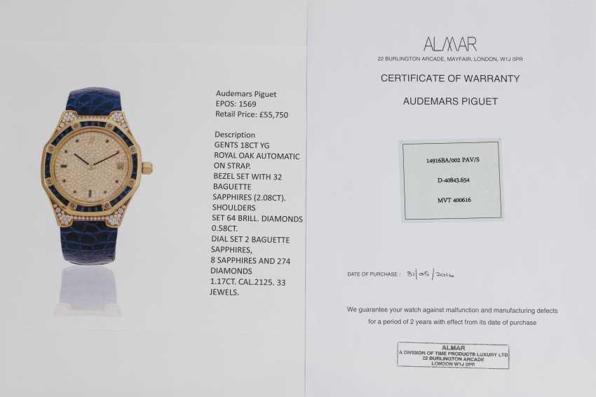 AUDEMARS PIGUET, A SET OF SIX GOLD BEJEWELLED ROYAL OAK WRISTWATCHES WITH ITS ORIGINAL PRESENTATON BOX - photo 18