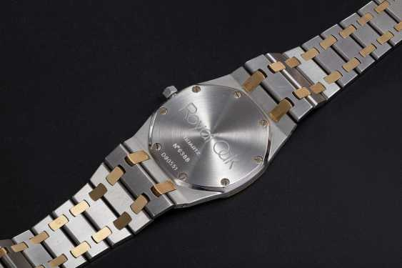 AUDEMARS PIGUET, A LADIES TWO-TONE ROYAL OAK QUARTZ WRISTWATCH - photo 2