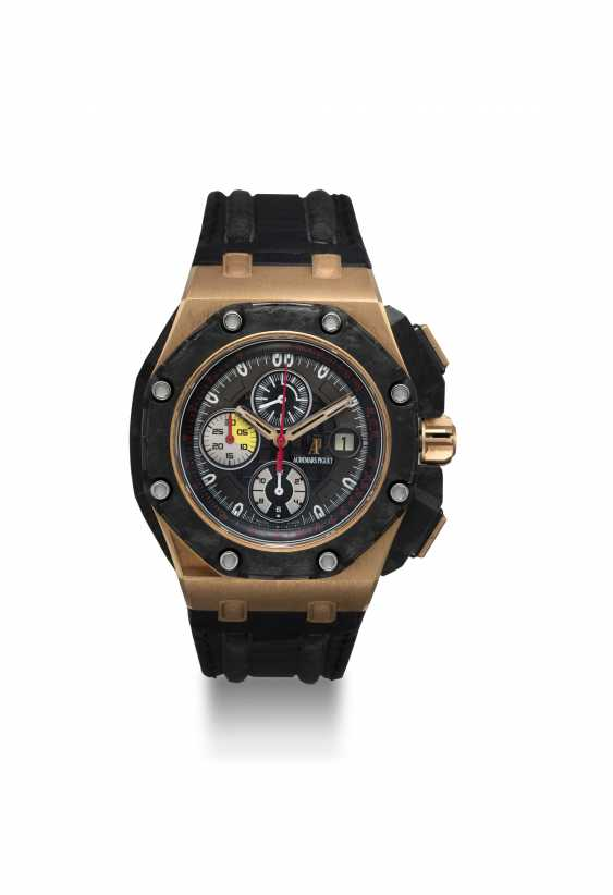 AUDEMARS PIGUET, LIMITED EDITION PINK GOLD, CERAMIC AND CARBON ROYAL OAK OFFSHORE GRAND PRIX, NO. 252/650 - photo 2