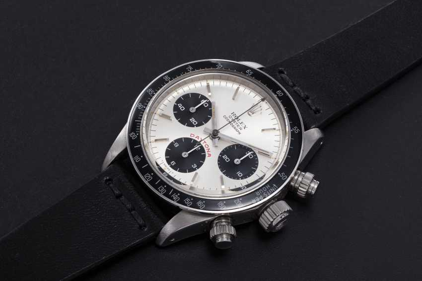 ROLEX. AN OYSTER COSMOGRAPH DAYTONA WRISTWATCH WITH AN ADDITIONAL DIAL, REF. 6265 - photo 1