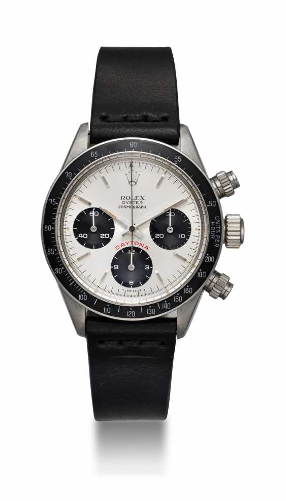 ROLEX. AN OYSTER COSMOGRAPH DAYTONA WRISTWATCH WITH AN ADDITIONAL DIAL, REF. 6265 - photo 3
