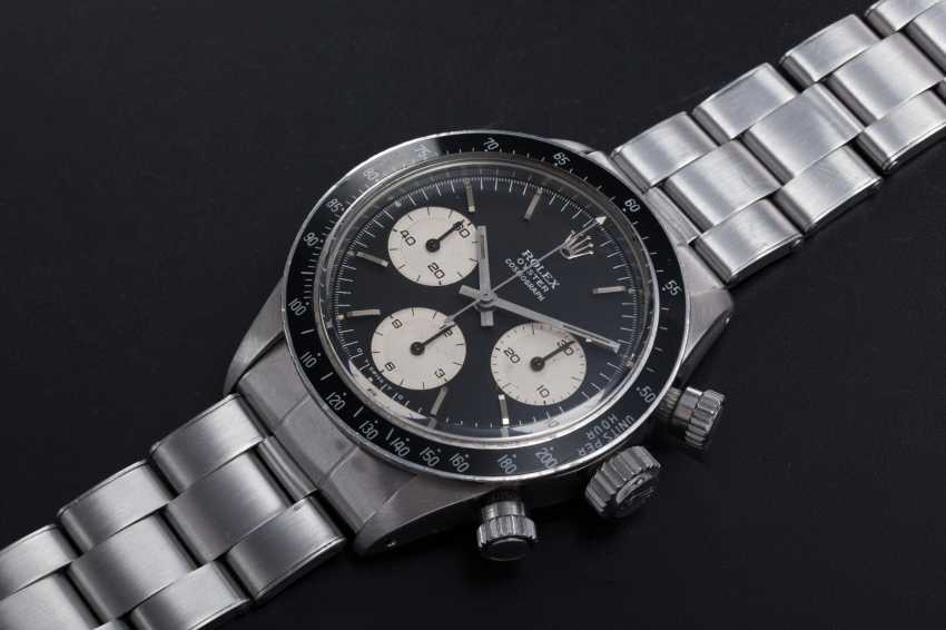 """ROLEX, A STEEL OYSTER COSMOGRAPH DAYTONA WITH """"SIGMA DIAL"""", REF. 6263 - photo 1"""