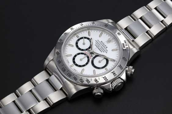 """ROLEX, A STAINLESS STEEL OYSTER PERPETUAL COSMOGRAPH DAYTONA """"INVERTED 6"""" - photo 1"""