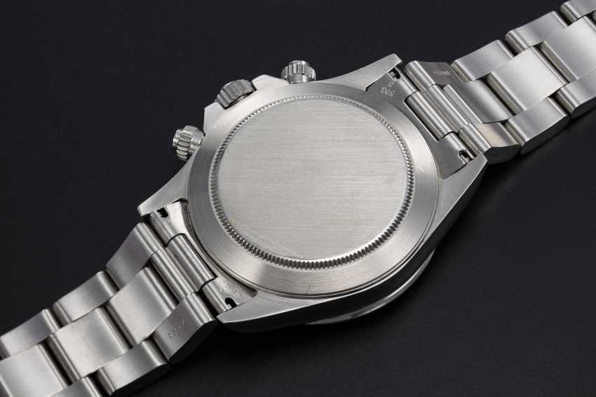 """ROLEX, A STAINLESS STEEL OYSTER PERPETUAL COSMOGRAPH DAYTONA """"INVERTED 6"""" - photo 2"""