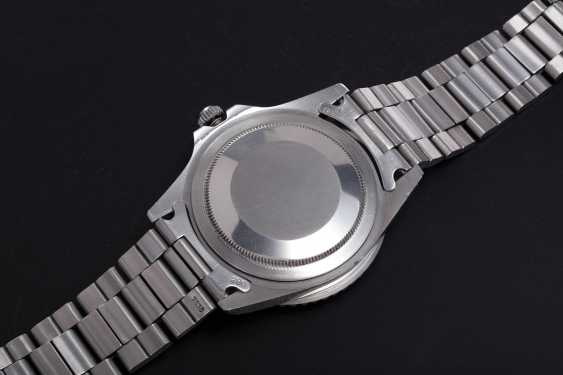 ROLEX, A STEEL OYSTER PERPETUAL GMT-MASTER, REF. 1675  - photo 2