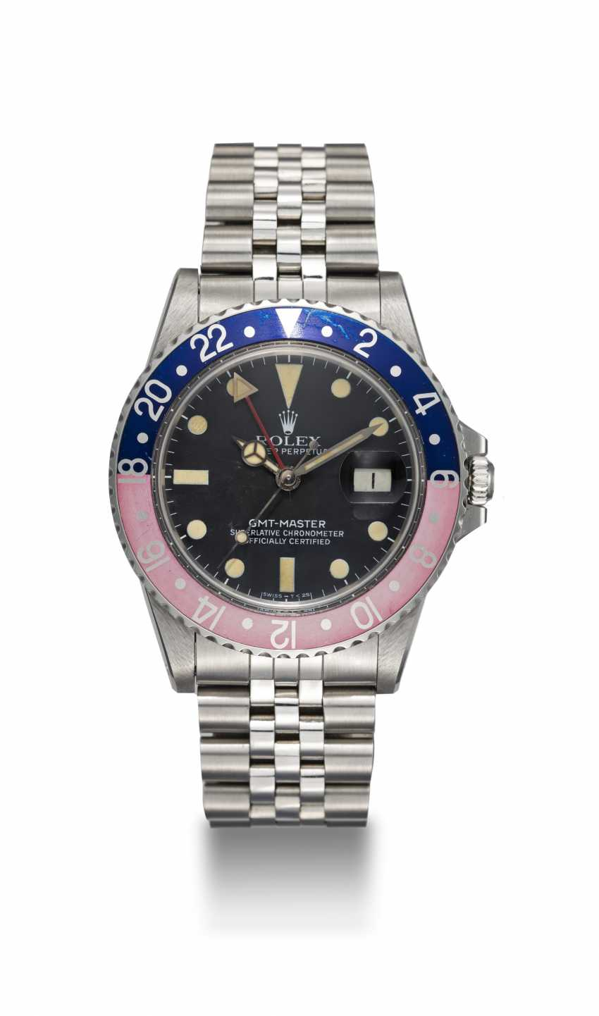 ROLEX, A STAINLESS STEEL OYSTER PERPETUAL GMT-MASTER, REF. 16750 - photo 3