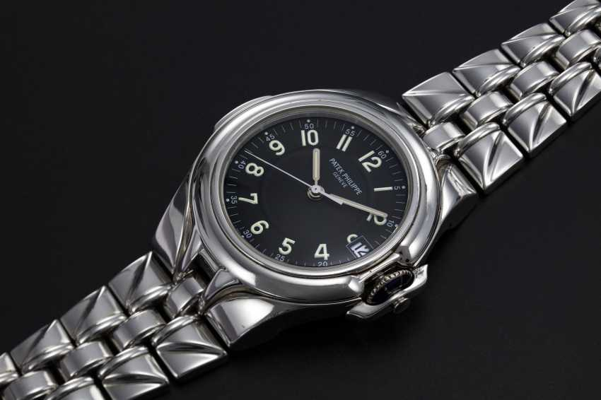 PATEK PHILIPPE, REF. 5091/1, A STEEL WRISTWATCH WITH INTEGRATED BRACELET - photo 1