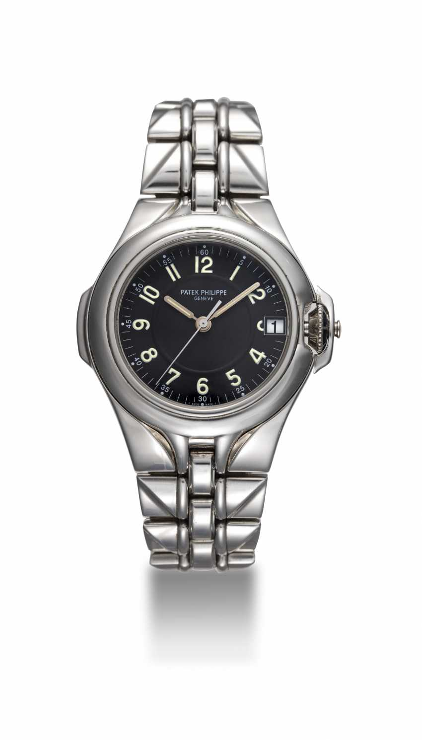 PATEK PHILIPPE, REF. 5091/1, A STEEL WRISTWATCH WITH INTEGRATED BRACELET - photo 3