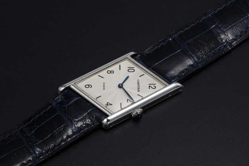 CARTIER, A PLATINUM LIMITED EDITION ASYMÉTRIQUE, 26/ 100 - photo 1
