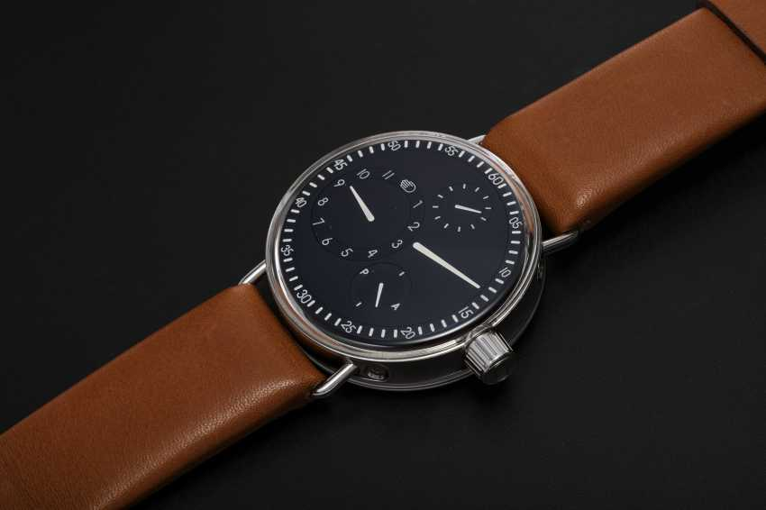 RESSENCE, A LIMITED EDITON STAINLESS STEEL SERIES ONE WRISTWATCH, TYPE 1001, 77/150 - photo 1