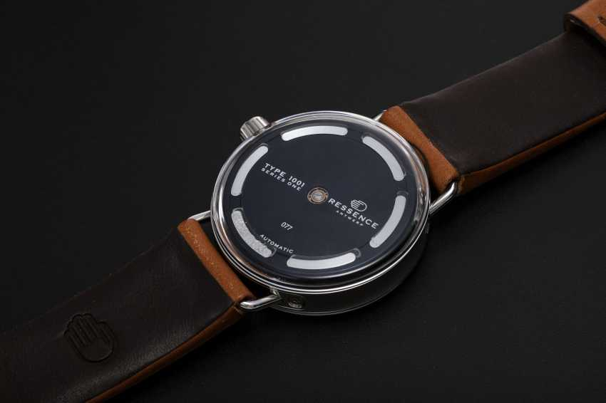 RESSENCE, A LIMITED EDITON STAINLESS STEEL SERIES ONE WRISTWATCH, TYPE 1001, 77/150 - photo 2
