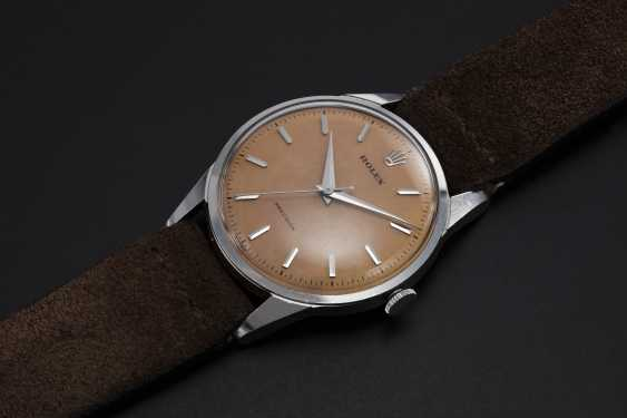 ROLEX, A RARE STEEL OYSTER PRECISION WITH SALMON DIAL, REF. 8895 - photo 1