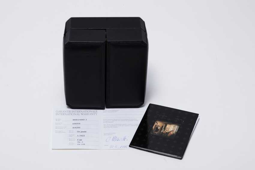 "VACHERON CONSTANTIN, YELLOW GOLD, LES HISTORIQUES WITH ""COW HORN"" LUGS, REF 48003/000J-3 - photo 4"
