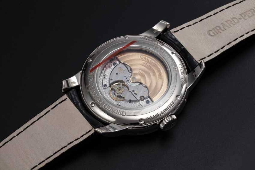 GIRARD-PERREGAUX, A LIMITED EDITION WHITE GOLD MOON-PHASE AUTOMATIC WRISTWATCH MADE FOR BOUCHERON - photo 2