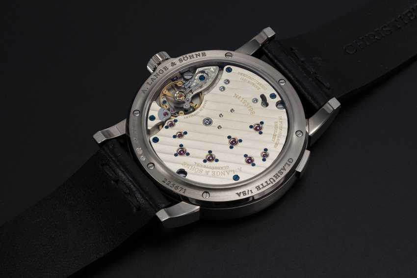 A. LANGE & SÖHNE, WHITE GOLD LANGE 1 WITH BLUE DIAL, REF. 191.028  - photo 2