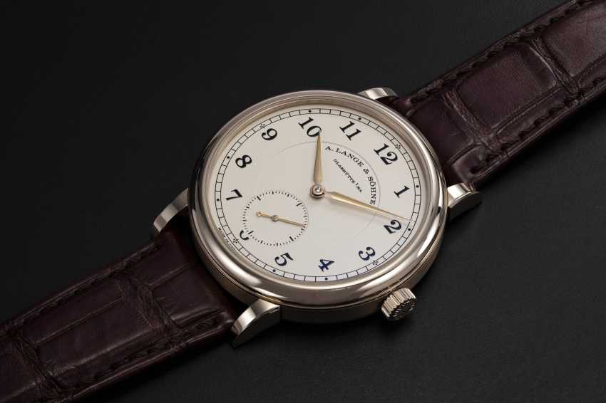 A. LANGE & SöHNE, A LIMITED EDITION HONEY GOLD 1815 ANNIVERSARY F.A. LANGE, 11/200 - photo 1