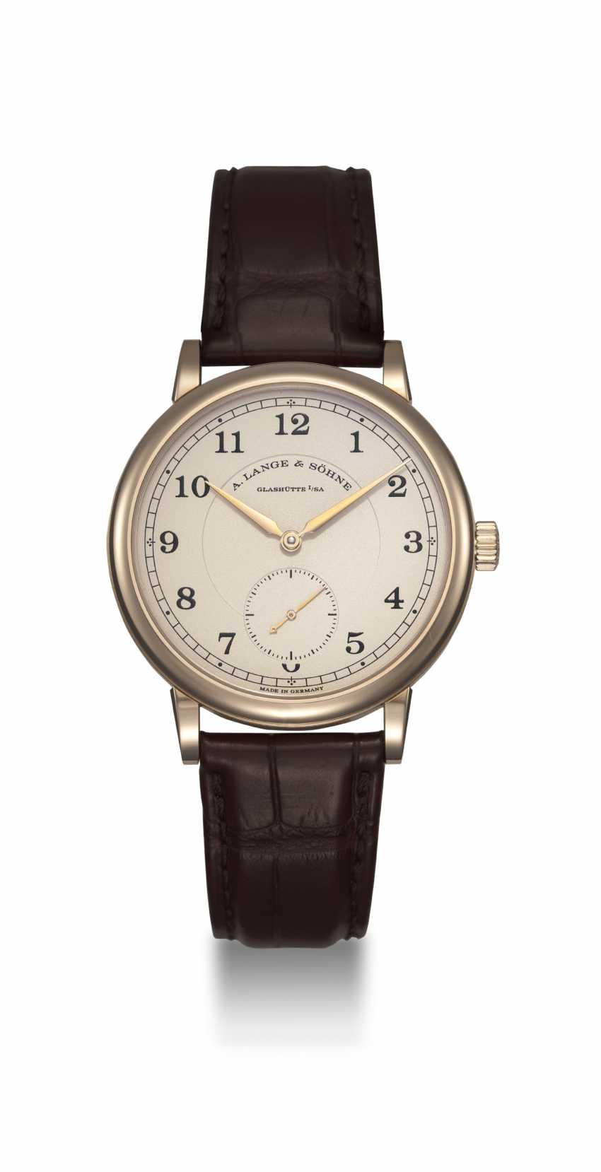A. LANGE & SöHNE, A LIMITED EDITION HONEY GOLD 1815 ANNIVERSARY F.A. LANGE, 11/200 - photo 3