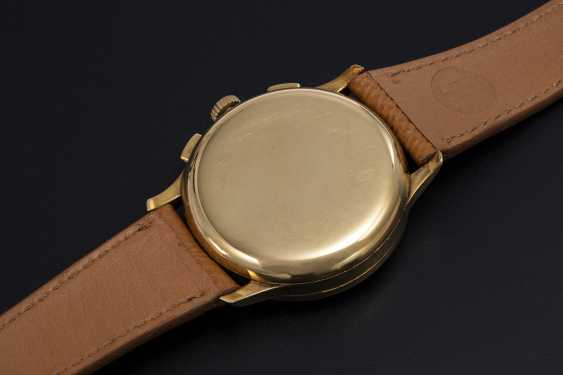 LONGINES, A YELLOW GOLD MULTI-SCALE CHRONOGRAPH WITH 13ZN MOVEMENT - photo 2