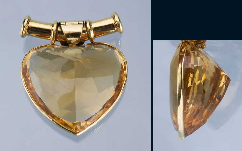 Great Design-Citrine-Pendant - photo 1