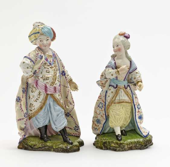 Turk and Turk, Damm, 19th century, after a model by Johann Peter Melchior - photo 1