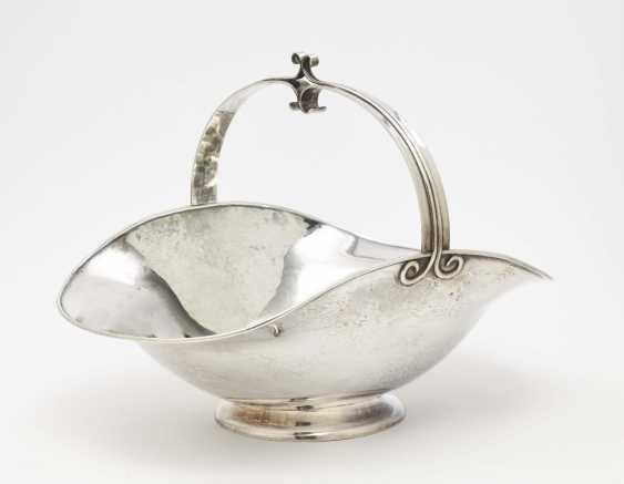 Offering bowl, Bremen workshops for handicraft silver work, around 1930 - photo 1