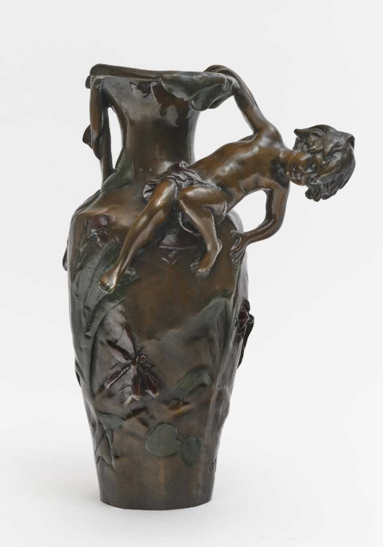 Vase, um 1900, Auguste Moreau (1834 Dijon-1917 Malesherbes) - photo 1