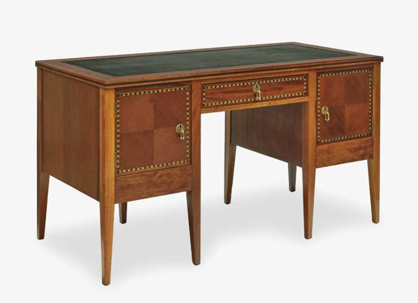 Desk, Bruno Paul, from the type furniture range, 1908 United Workshops Berlin and Bremen - photo 1