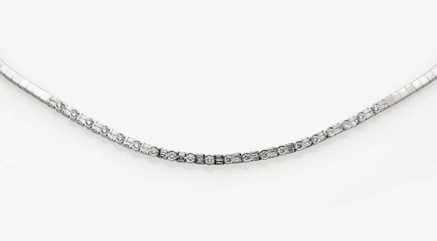 Rivière necklace with diamonds, Belgium - photo 3