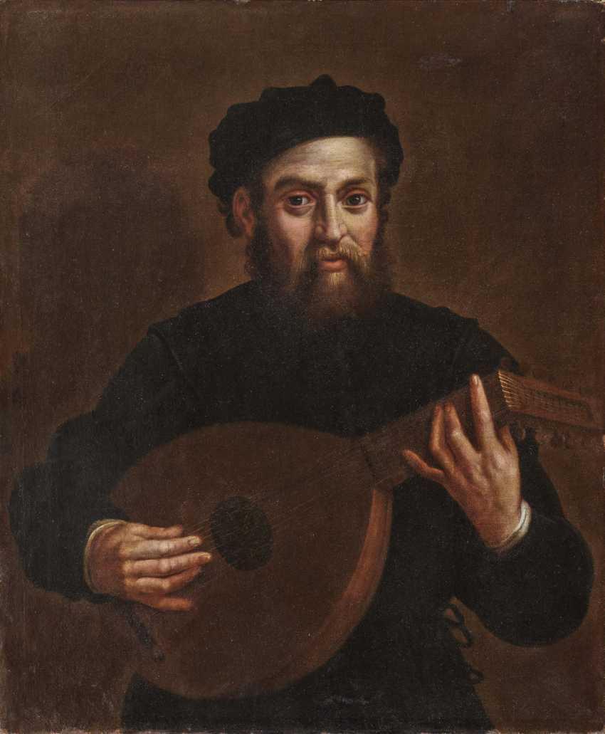 Antonio Carracci, successor, lute player - photo 1