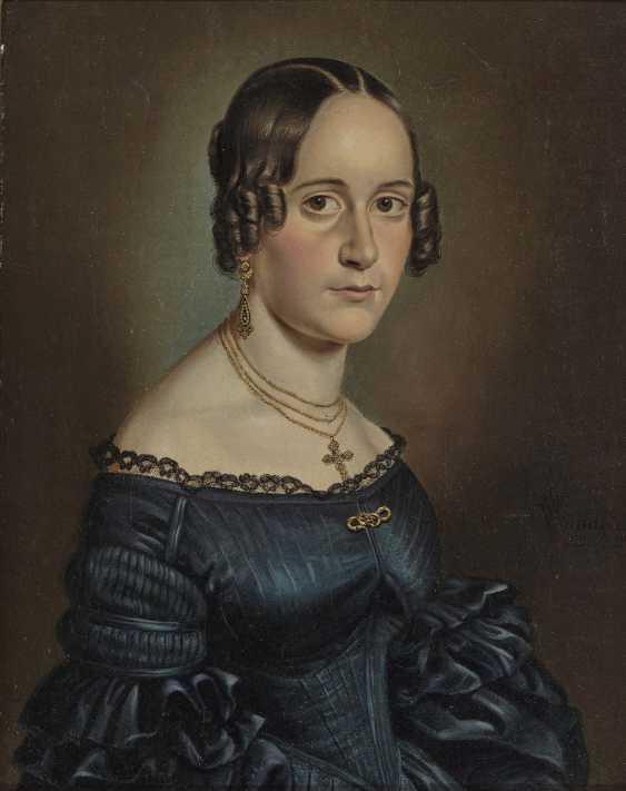 Wilhelm (Georg W.) Wanderer, male and female portrait - photo 1