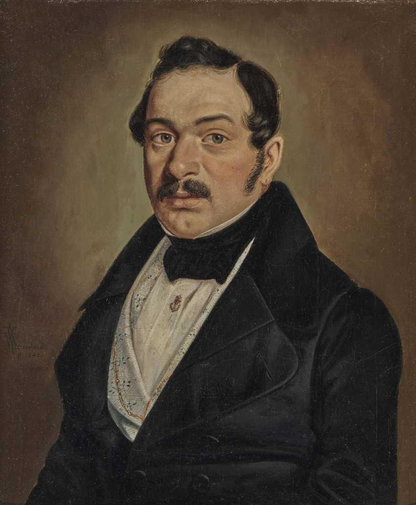 Wilhelm (Georg W.) Wanderer, male and female portrait - photo 2