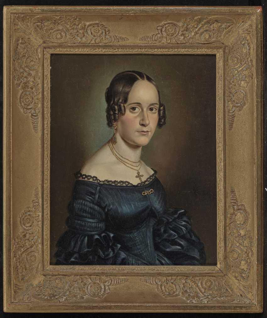 Wilhelm (Georg W.) Wanderer, male and female portrait - photo 3