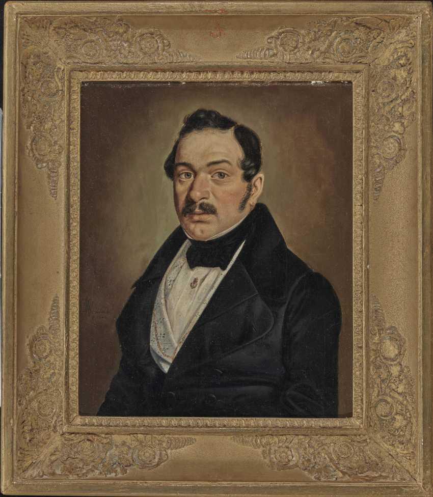Wilhelm (Georg W.) Wanderer, male and female portrait - photo 4