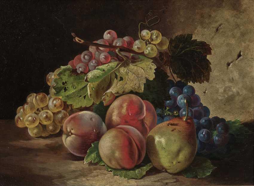 Monogrammist Th.M .; 19th century, still life with fruit - photo 1