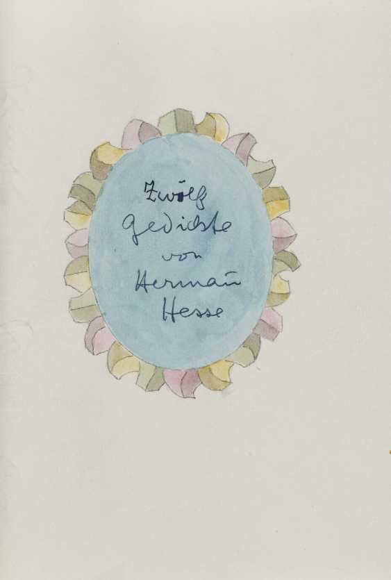 Hermann Hesse, Twelve Poems by Hermann Hesse. 1961 - photo 1