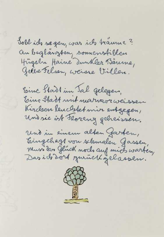 Hermann Hesse, Twelve Poems by Hermann Hesse. 1961 - photo 3